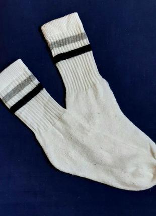 Носки белые спортивные высокие махровые  германия размер 33-37
