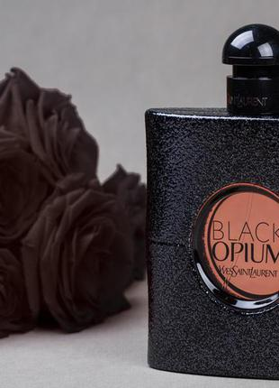 Yves saint laurent black opium 3 мл оригинал затест распив и отливанты аромата