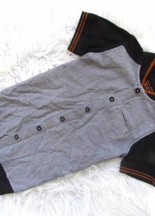 Рубашка с коротким рукавом тенниска next