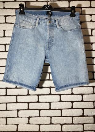 Синие , голубые , джинсовые шорты h&m