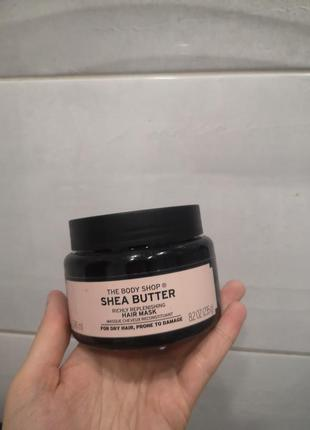 Маска для волос the body shop shea ши масло