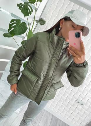 Куртка на синтепоне 4 цвета