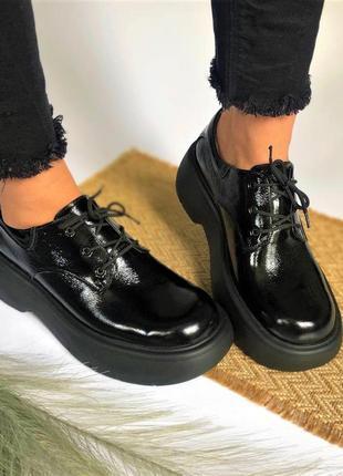 Женские стильные туфли 🍁
