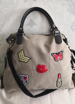 Большая стильная сумка 👜👜💣🔥🏵️💥