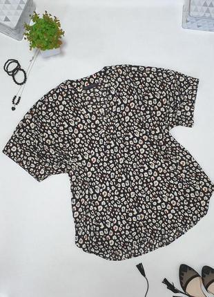 💜стильная блуза с анималистичным принтом💜