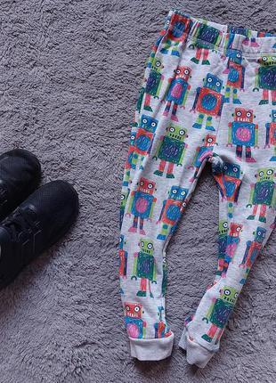 Спортивные штаны в роботы для мальчика