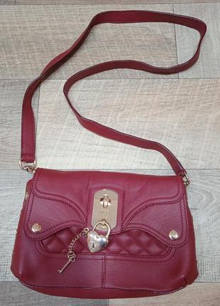 Liu jo итальянская фирменная кожаная сумка