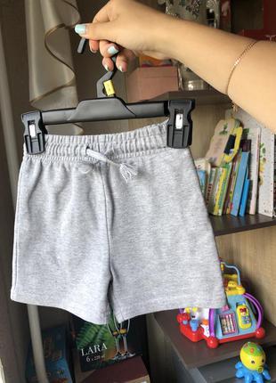 Серые базовые шорты george 2-3 года