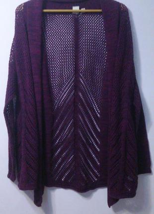 Женский кардиган кофта жакет roxy, 42-44 размер (xs).