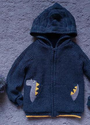 Кофта-курточка с драконом для мальчика