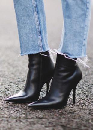 Чулки ботильоны kitten heel ботинки острый носок ботильоны чулок сапоги-чулки