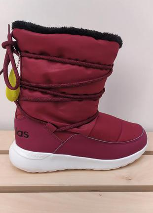 Женские зимние сапоги ботинки дутики adidas neo cloudfoam aq1644