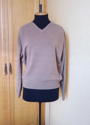 Джемпер пуловер 100% шерсть