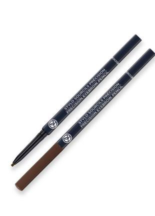 Скидка! ультрастойкий карандаш для бровей, тон 4