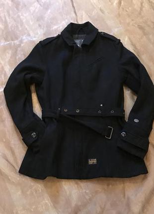 G-star raw, оригинал куртка, пальто, тренч, шерсть-вискоза