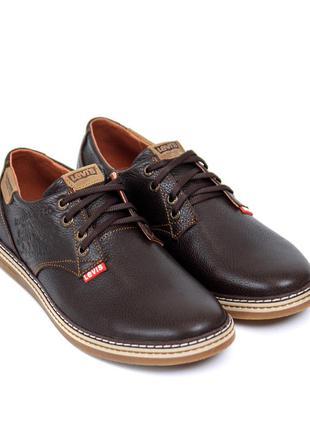 Классные мужские туфли левис