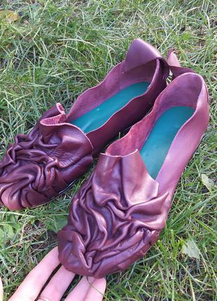 Туфли кожанные ексклюзив