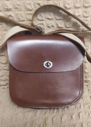 Кожаная сумка планшет. планшетка