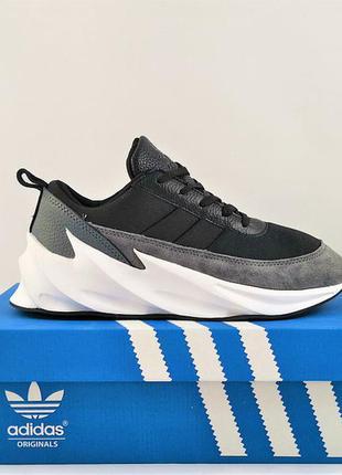 Мужские кроссовки кроссовки в стиле adidas sharks/адидас