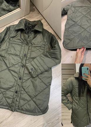 Нова стьогана курточка, куртка рубашка