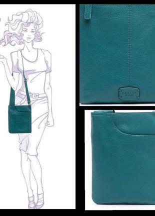 Кожаная сумка, сумка планшет, radley