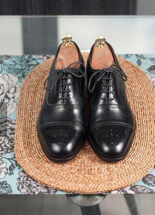 Броги премиум класса joseph cheaney, англия 43р мужские туфли