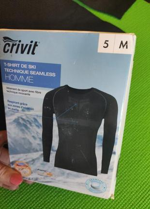 Лыжная бесшовная футболка