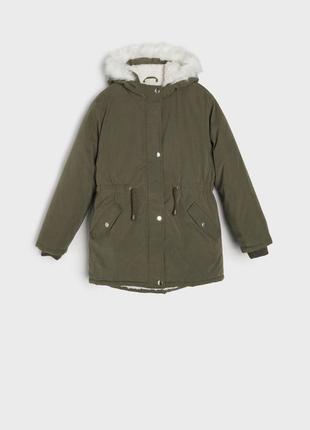 Парка зимняя, куртка теплая р.134-158