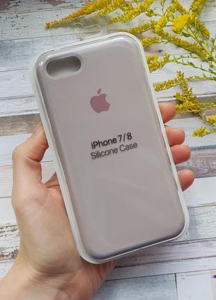 Чехол на iphone 7 8 silicone case чехол для айфон