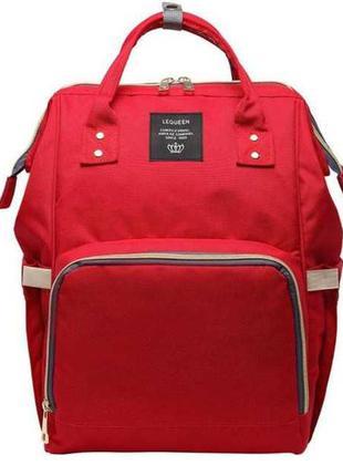Зручний, легкий, міцний і місткий рюкзак-сумка для мами mother bag