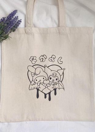Эко сумка, эко сумка с рисунком, шоппер, шоппер с рисунком, шопер, шопер с рисунком