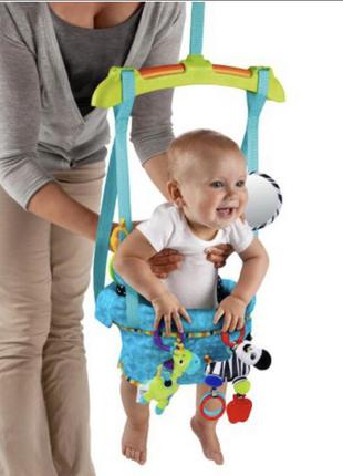 Новые прыгунки детские качеля гамак батут от 6 месяцев