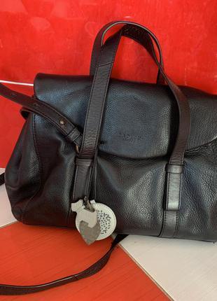 Шикарная стильная кожаная сумка radley с собачкой/кожа/кроссбоди