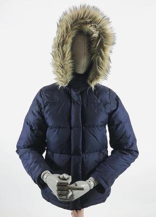 Зимняя куртка на пуху - синтепон ветровка с капюшоном polo rrl denim zne tech парка