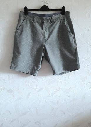 Стильные брендовые шорты из хлопка по типу cotton от f&f