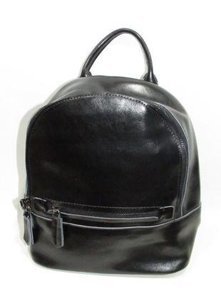 Женский кожаный рюкзак жіночий шкіряний портфель сумка кожаная