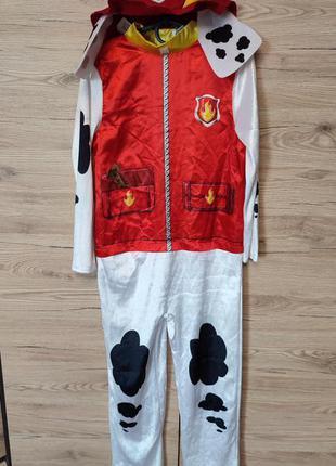 Детский костюм маршалл, щенячий патруль на 7-8 лет