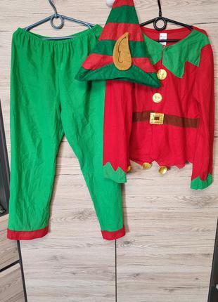Детский костюм эльф, ельф, гномик, гном на 9-10, 11-12, 10-12 лет.