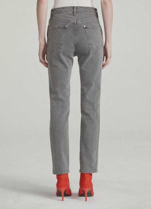 Новые винтажные стрейч джинсы сигареты размера m-l