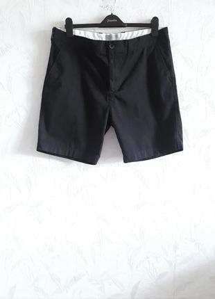 Стильные шорты из хлопка по типу cotton от marks & spencer