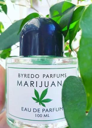 Byredo marijuana оригинал затест распив и отливанты аромата