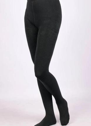 Теплые колготки женские шугуан, хлопок+кашемир  xl-3xlр.
