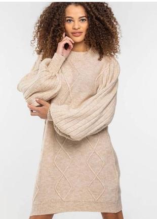 Вязанное платье - свитер турция 🇹🇷