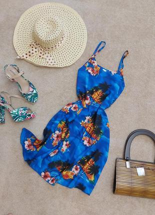 Шикарное летнее прямое платье сарафан