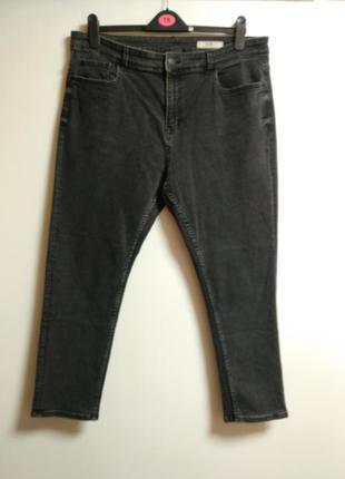 Стрейч джинсы слимы slim 54-56 размера