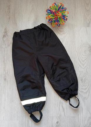 Теплые зимние штаны, 92 см, 1,5-2 года. h&m