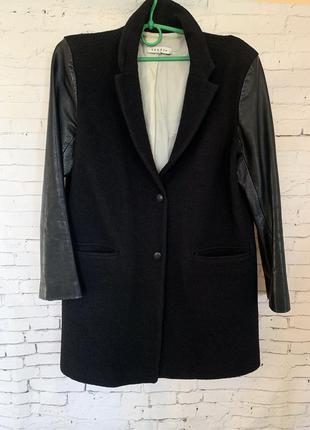 Стильное шерстяное пальто sandro