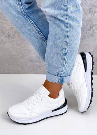 Акция кеды женские белые кроссовки кросівки жіночі кеди білі