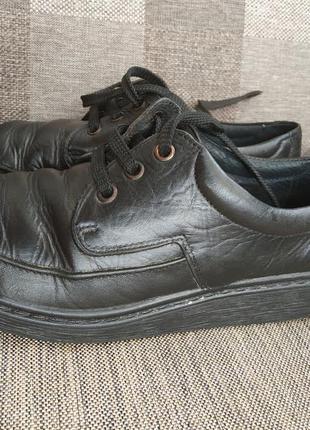 """Туфли кожаные """"тигина""""на мальчика р. 40"""