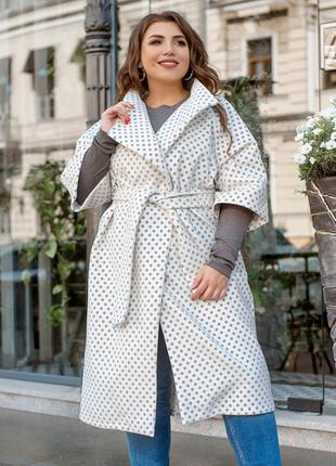 Стильный кашемировый кардиган пальто батал + бесплатная доставка💓